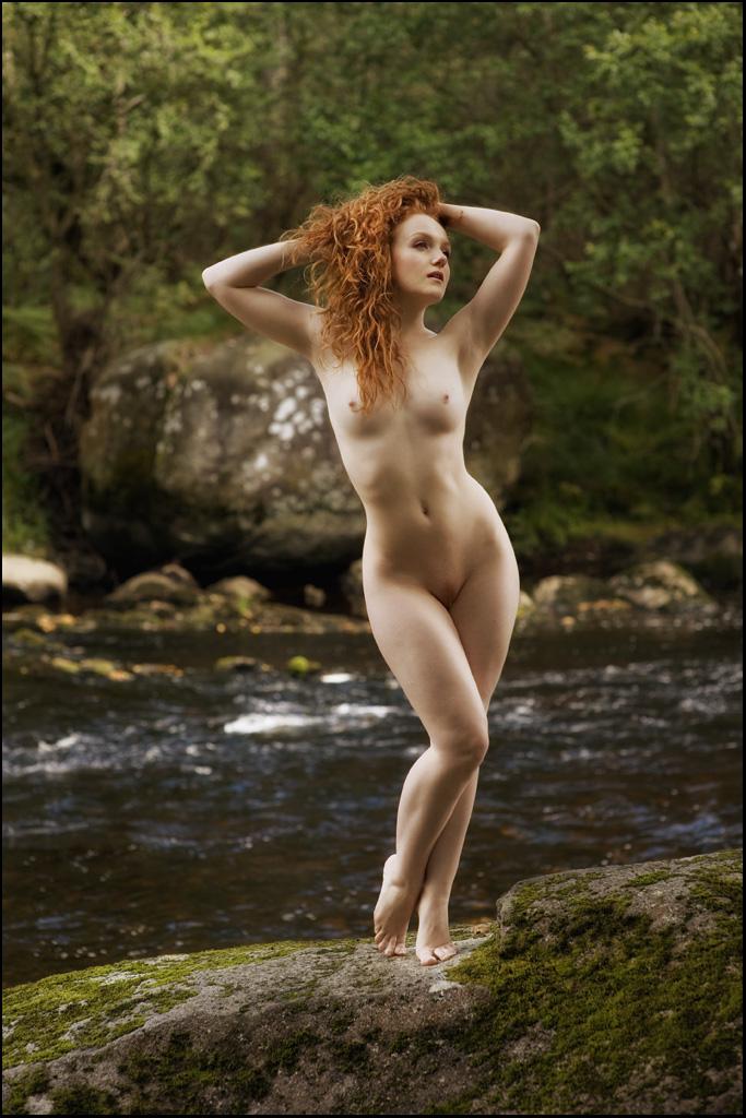 Chunky naked nymphs selena
