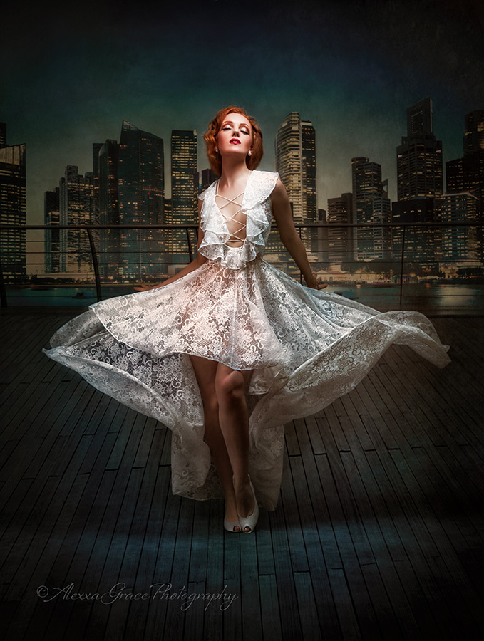 Ivory Flame by 'Divine Masterpiece'  Fashion