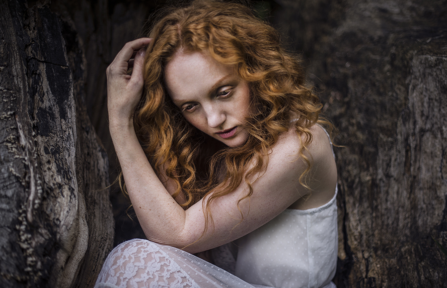 Redhaired model Ivory Flame by Picturecorner photography