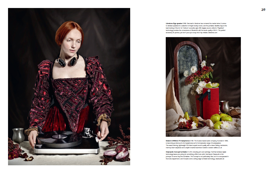 Ivory Flame by Daily Telegraph Renaissance Article  Fashion
