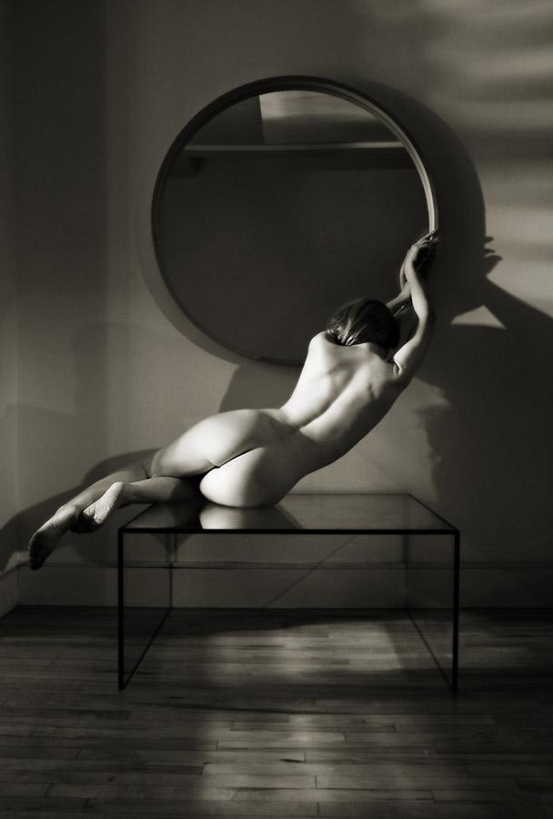 art nude naked model Ivory Flame