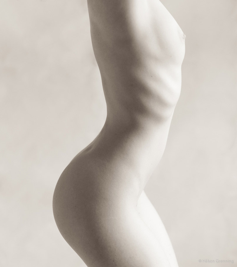 Ivory Flame by Hakon Gronning - Ivory Flame 900  Figure