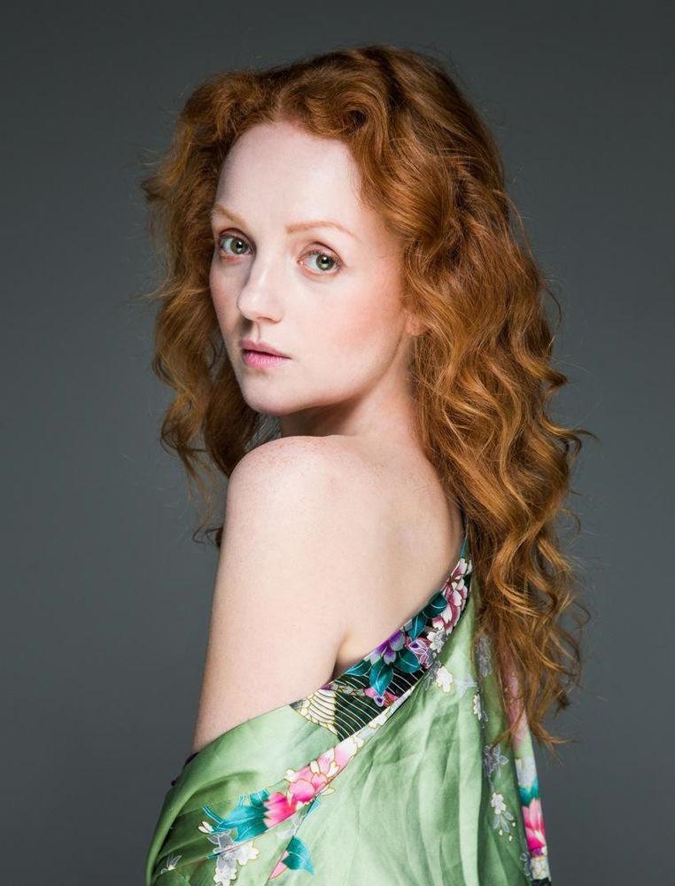 Redhead Ivory Flame model portrait by Pierus