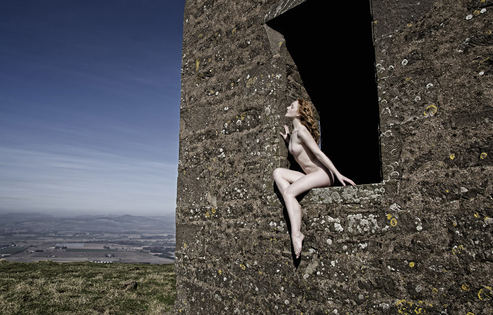 Art Nude model in Scotland by photographer Jim Furness