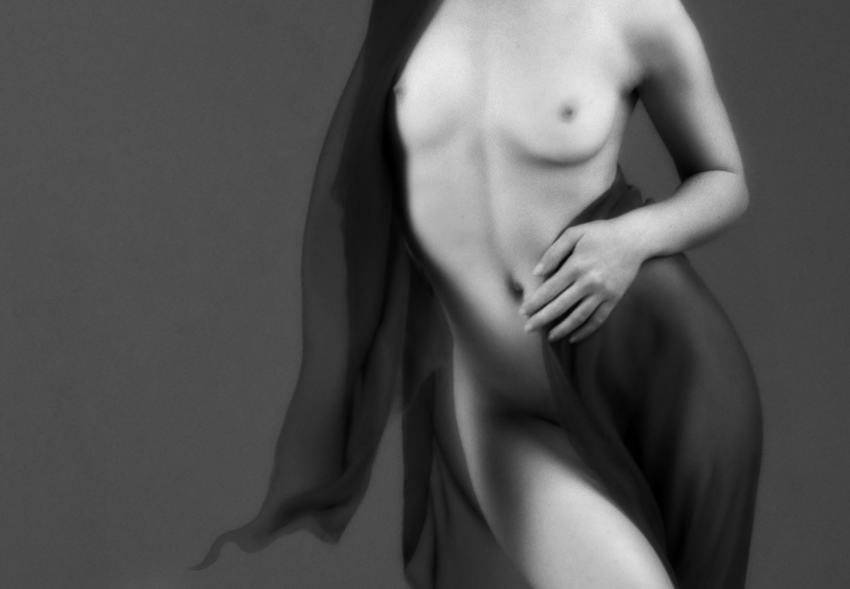Nude Fine Art of model IvoryFlame by photographer and digital artist Joan Blease