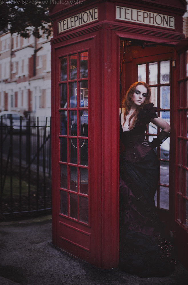 Fashion Model with Red Hair and pale skin IVORY FLAME by photographer Marta Bevacqua