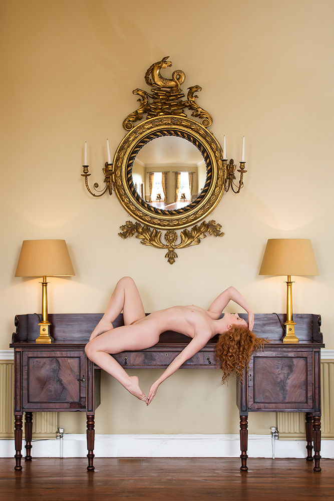 Ivory Flame by Ross McKelvey IVORY FLAME nude 1050  Environment