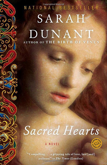 Bookcover of Sarah Dunant Sacred Hearts featuring model Ivory Flame by photographer Steve Peet