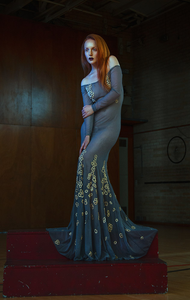 Ivory Flame by Salleh Sparrow Ivory Flame Fashion  Fashion