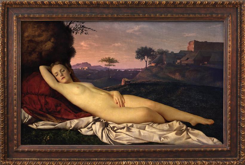 'Transforming Nude' Digital Painting