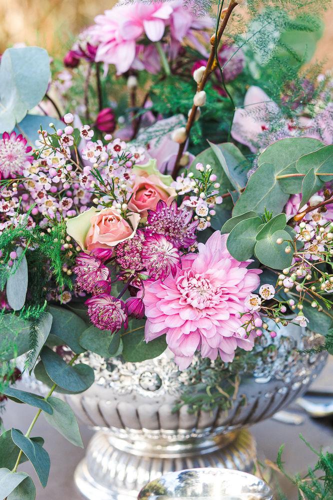 Ettington Editorial Bridal Flower Arrangement