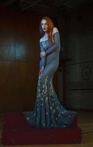 Salleh Sparrow Ivory Flame Fashion Photoshoot 900