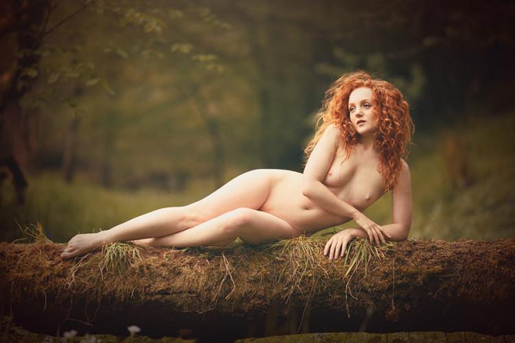 IVORY FLAME nude classical redhead model Derek B image 3345 900