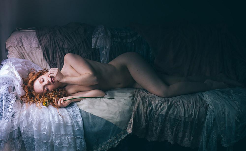 Nude Model Blog Ivory Flame by Donatas Za Zazirskas