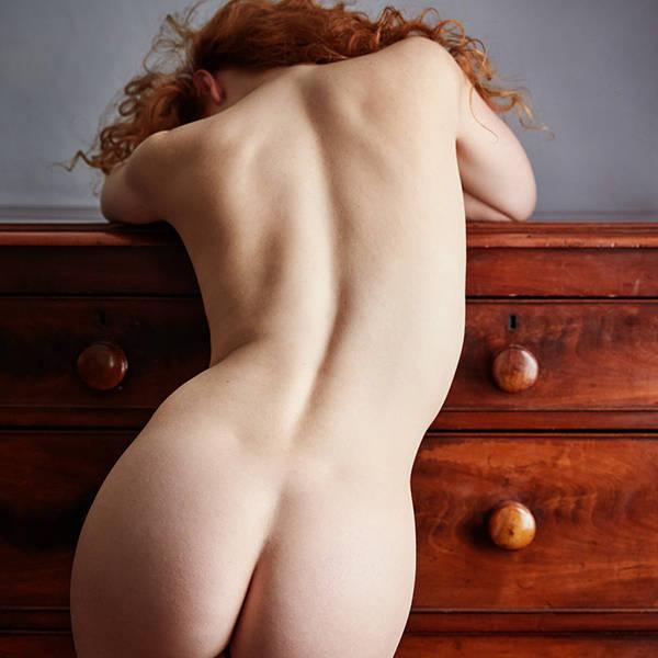 Ivory Flame art nude naked model