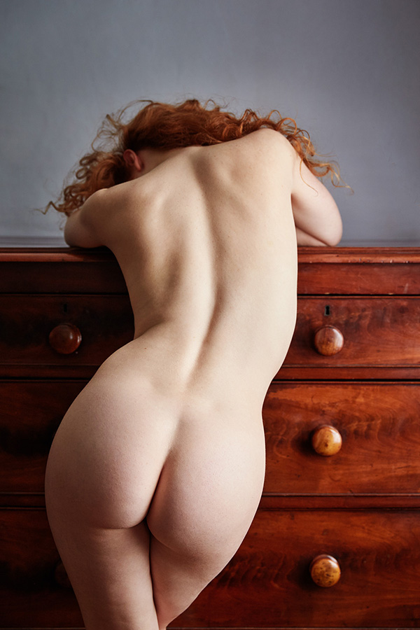 Ivory Flame art nude naked model