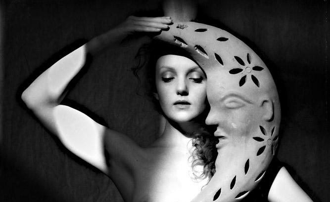 Ivory Flame art nude model