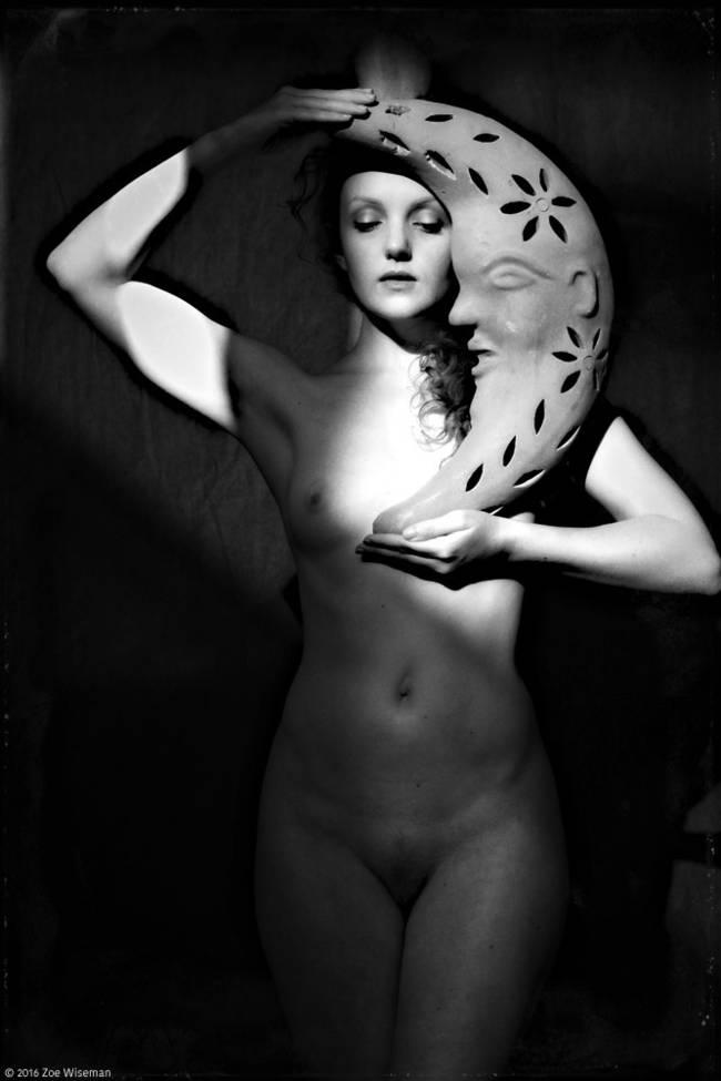Ivory Flame art nude model photography Zoe Wiseman