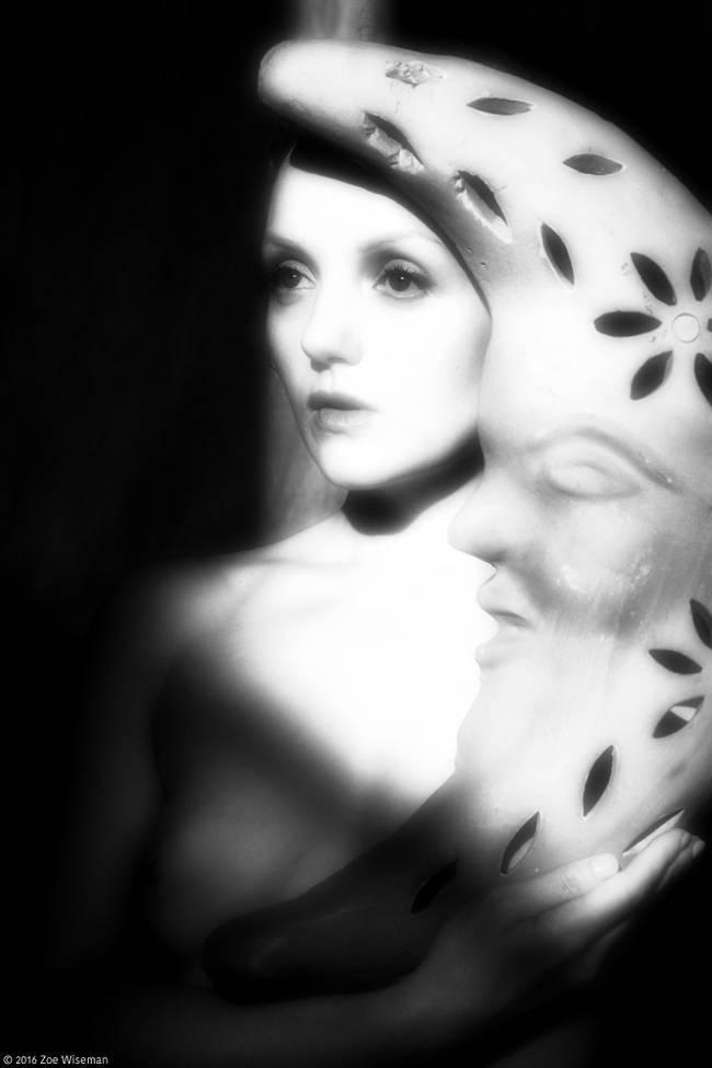 Model Ivory Flame art nude figure Zoe Wiseman