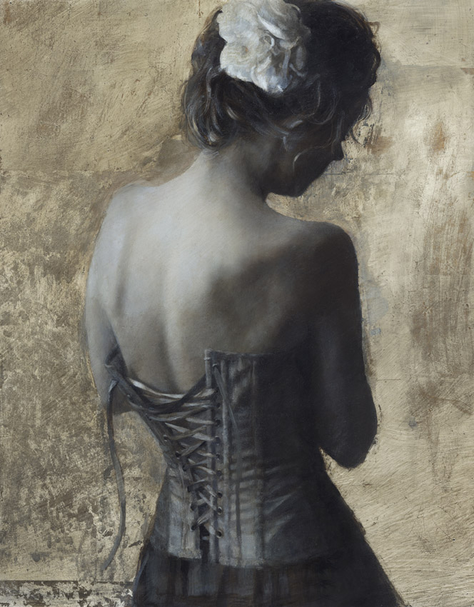 Model UK England Ivory Flame by painter artist Fletcher Sibthorp