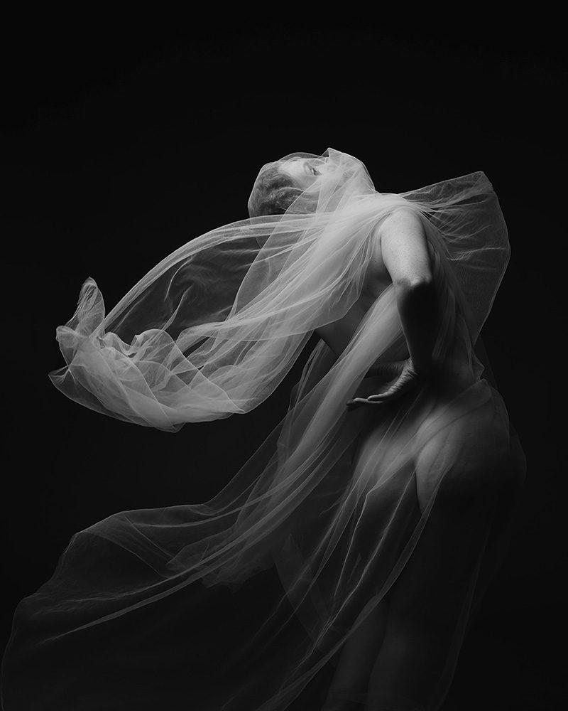 Ivory Flame by Jewelled Earth Studio Nudes Movement Fabric Web 15 Self portrait Figure