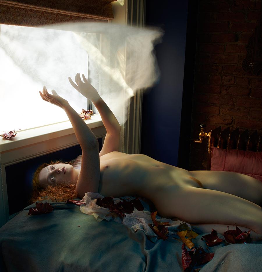 Ivory Flame by Remi Rebillard Ivory Flame New York Autumn Breeze Nude 3 900  Figure