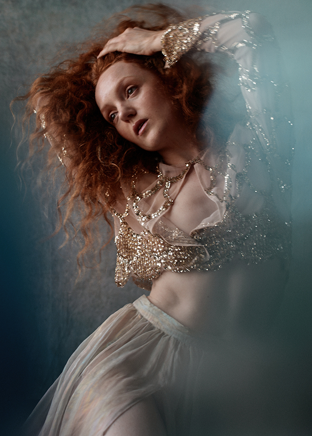 Model Ivory Flame remote photoshoot by Camilla Greenwell portrait photographer