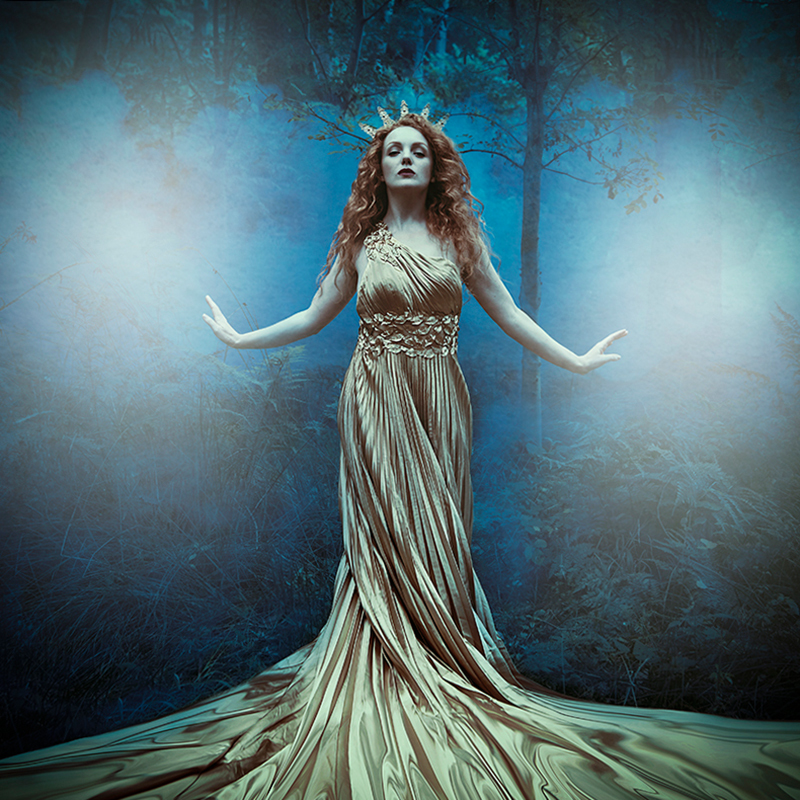 Ivory Flame by Ceridwen Rayner Ivory Flame Goddess fantasy photoshoot  Time-traveller