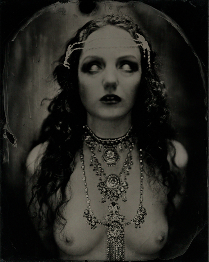 Ivory Flame model by photographer James Wigger
