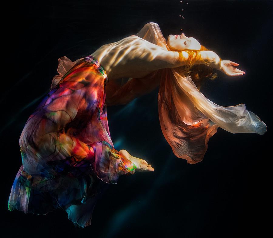 Ivory Flame by Steve Butler Ivory Flame model Underwater 900  Underwater